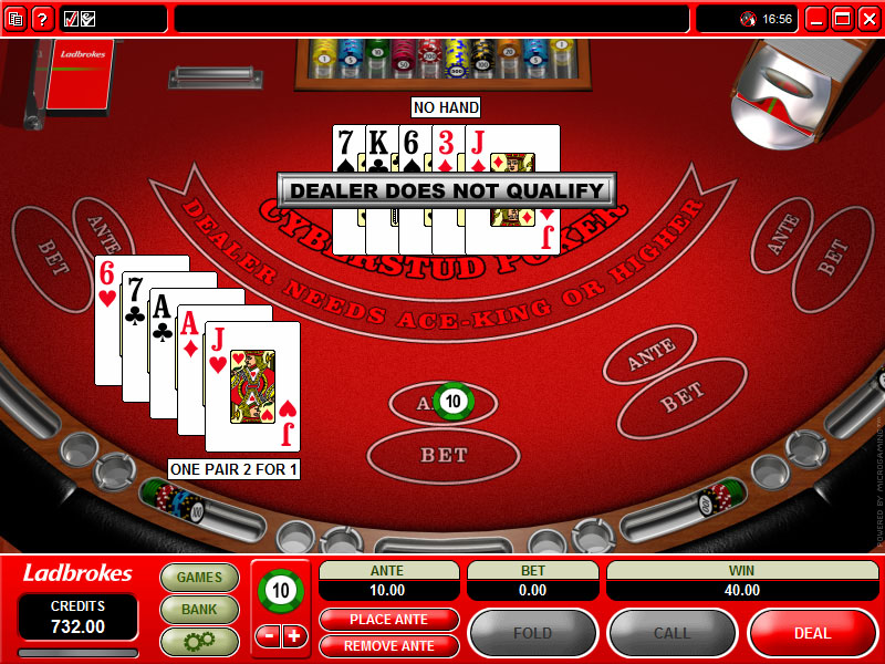 Caribbean Stud Poker Online Rules Optimal Strategy And