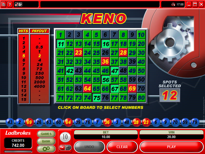 The Best Online Casinos for Keno