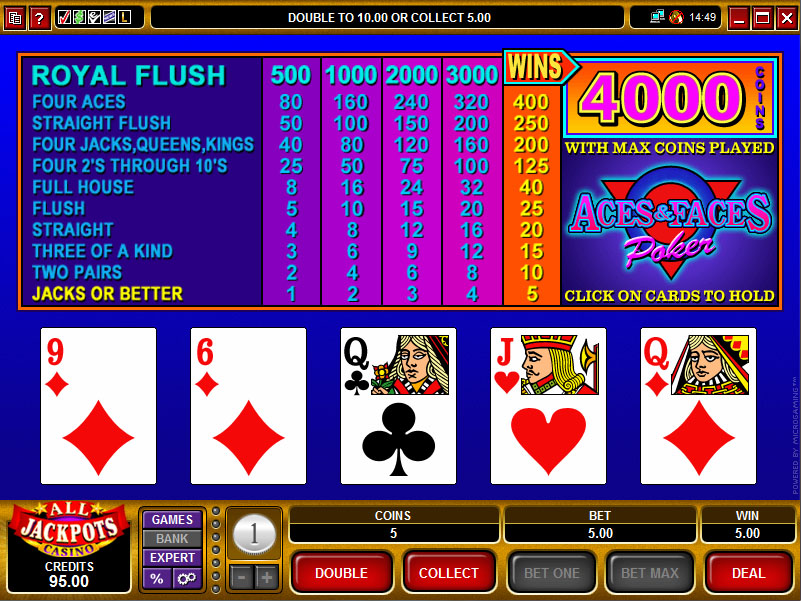Video poker casino games 2006 mac pro pci slots